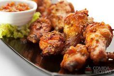 Receita de Coxa de frango no creme de cebola em receitas de aves, veja essa e outras receitas aqui!