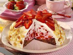 Erdbeer-Kuppeltorte