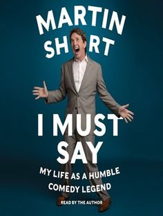Cover of I Must Say | Borrow and read ebook for free with your Mesa Public Library card.