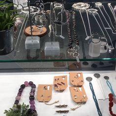 Centrepiece jewellery selling exhibition 2016 is being set up #designermaker #jewellery #centrepiece #birmingham