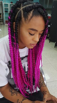 Hairstyle courtesy of the amazing @beautycreationsinsta // Hair Trend by Yinka Bokinni