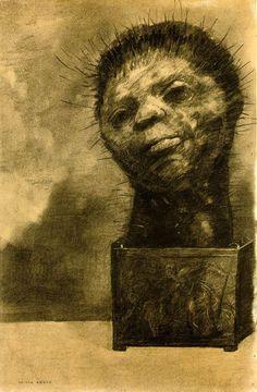 Cactus Man, Odilon Redon, 1881