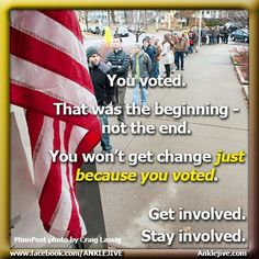We won this election, but we all have to stay involved in order to make sure that victory leads to real change. Political Images, Political Views, Human Rights Movement, German People, Greater Good, Right Wing, Republican Party, Social Issues, Stand Up