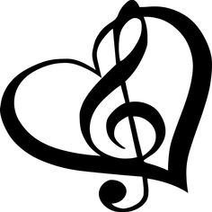 Music Note Heart Tattoo Face Paint Pinte