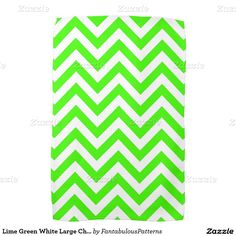 Shop Lime Green White Large Chevron ZigZag Pattern Kitchen Towel created by FantabulousPatterns. Lime Green Kitchen, Green Kitchen Decor, Kitchen Ideas, Zig Zag Pattern, Kitchen Towels, Hand Towels, Chevron, Vibrant, Monogram