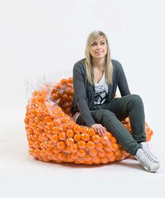 Suctioned Ball Seating : Inspiration Chair