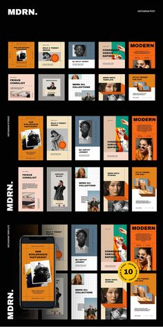 Directory inspiration for the org directory. We could design something similar and organize it by org type i. performing, visual, artists, etc Instagram Grid, Story Instagram, Instagram Design, Instagram Layouts, Instagram Templates, Social Media Template, Social Media Design, Social Media Graphics, Graphic Design Posters