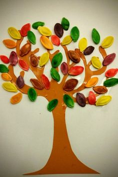 20160922_194713 Fall Crafts For Toddlers, Autumn Activities For Kids, Toddler Crafts, Preschool Activities, Craft Stick Crafts, Fun Crafts, Diy And Crafts, Painting Games For Kids, Learning To Embroider