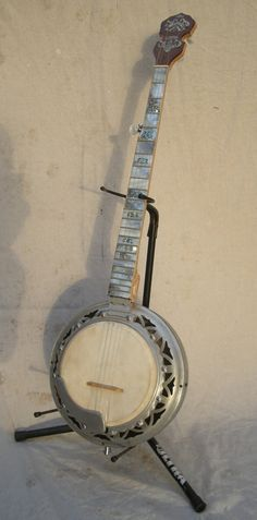 Dragon Handmade 5String Banjo OOAK Aluminum by RainyDayInstruments