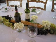 """Italian Dinner Party - """"A loaf of bread, a jug of wine and thou!"""""""