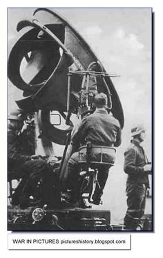 German acoustic radar. Called-Ringtrichterrichtungshoerer it had a range of from 5 to 12km, up to two degrees.