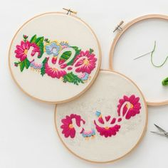 Embroidered Typography Online Class