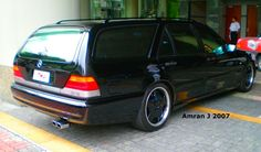 Custom W140 Mercedes S-Class AMG Wagon