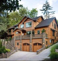 Love mountain cabins like this!