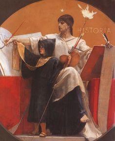 Η Ιστορια, Νικόλαος Γύζης | Καμβάς, αφίσα, κορνίζα, λαδοτυπία, πίνακες ζωγραφικής | Artivity.gr