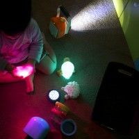 lights activity box