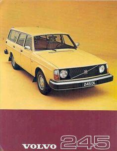 1977 Volvo 245 Kombi – Callie Morgan – Join in the world of pin Volvo Station Wagon, Volvo Wagon, Retro Cars, Vintage Cars, Volvo Ad, Volvo Estate, Automobile, Custom Big Rigs, Car Advertising