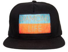 Diamond Life Flag Snapback Cap by DIAMOND SUPPLY CO. 344368a50e