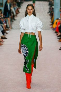 aef5e66690690 Carolina Herrera Spring 2019 Ready-to-Wear-Modenschau Carolina Herrera  Spring 2019 Ready