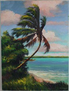 Swaying Palm - James Gibson highwaymen artist