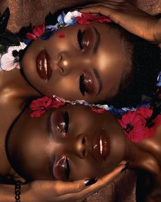 45 Creative Ebony Beauty Portrait Photography Examples - Care - Skin care , beauty ideas and skin care tips Makeup Black, Dark Skin Makeup, Dark Skin Beauty, Black Beauty, Black Woman Makeup, Klum, Beautiful Black Girl, Pretty Black Girls, Black Girls Rock