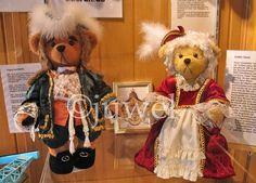 Teddybärenausstellung Gräfin Cosel und August der Starke