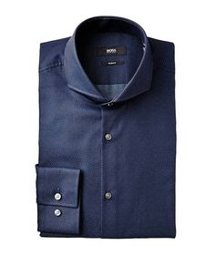 Whether you want to stand out from the crowd in a patterned Versace or Eton button-down, or keep it classic with Tom Ford and Zegna, Harry Rosen features men's designer dress shirts to suit every man Men's Shirts, Dress Shirts, Cool Shirts, Smart Man, Cutaway Collar, Man Dressing Style, Geometric Dress, Camisa Formal, Fashion Corner