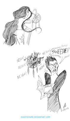 Rise of the Guardians (2012) - Fan Art - Pitch - Normal day 4 by ~ChaoticYume on deviantART