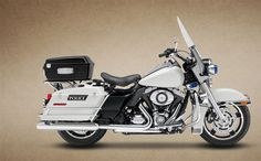 harley davidson flhp road king fire rescue 2008