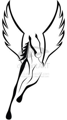 com img src http www tattoostime com images 62 winged horse tattoo Horse Tattoo Design, Tattoo Designs, Horse Drawings, Art Drawings, Tribal Tattoos, Cool Tattoos, Tatoos, Tribal Horse Tattoo, Tribal Wings