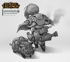 MANNERS - Yordle Design by EsbenLash on DeviantArt