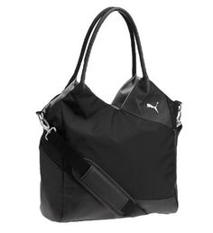This sleek tote has generous space for all your athletic gear and a style that goes beyond the gym. The lightweight yet durable construction and ultramodern design mean you can sport it for years to come.Features:100% Nylon for keeping things light and durableZip opening for easy access Over-the-shoulder strap and carry handles for versatile carrying options PUMA Cat Logo for subtle sporty style15