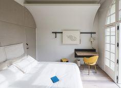 Fontevraud l'Hôtel, L'Abbaye de Fontevraud Hotel room, simple, fresh
