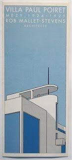 """""""Villa Poiret"""" designed by architect Robert Mallet-Stevens (1924-25) for designer Paul Poiret (1879-1944). via Savoir Faire"""