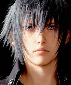 FINAL FANTASY XV - Noct close up