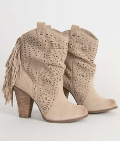 c69c902274c3e4 Naughty Monkey Love Lace Ankle Boot - Women s Shoes in Camel