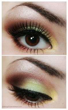 This girl is amazing at makeup. Check out her deviantART page.