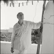 ITALY. Forio d'Ischia. Pavel Tchelichev during his holiday in the artist colony on Ischia. 1950. P-US-TCH-005