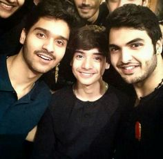 Ali Shanawar , Ali Jee with cousin
