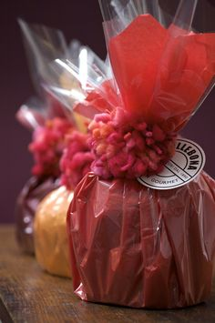 Panettone, gift wrapped