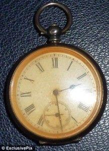 pocket watch that stopped when the Lusitania sank