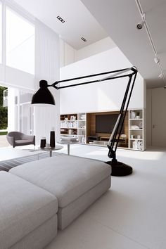 HOUSE 4 CARS interior by LINE architects, via Behance