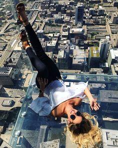 Sky deck (Willis tower) in Chicago