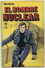 Resultado de imagen de carteles el hombre nuclear Comic Books, Comics, Tv, Cover, Poster, Men, Comic Strips, Comic Book, Cartoons