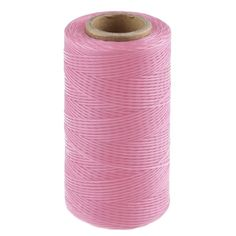 260M 150D 1MM Leather Sewing Waxed Wax Thread Hand Stitching Cord Craft DIY New(14Pink) >>> Click image to review more details.
