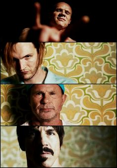 Flea, Josh, Chad, Anthony Red Hot Chili Peppers