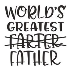 Silhouette Design Store: world's greatest father