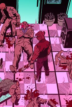 JD MAKES COMICS: Hotline Miami