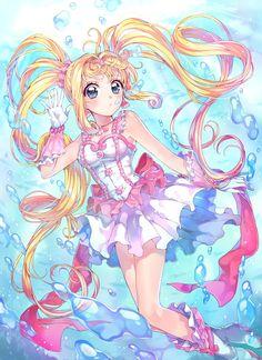 Princess Lucia from Pichi Pichi Pitch Manga Love, Manga Girl, Anime Manga, Anime Art, Mermaid Melody, Mermaid Princess, Otaku, Kawaii Anime, Sailor Moon Theme Song
