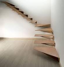 Resultado de imagem para corten cantilevered stairs